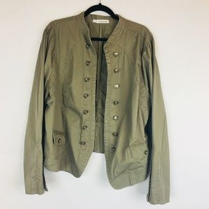 Maurices Army Style Green Jacket Size 4 Plus